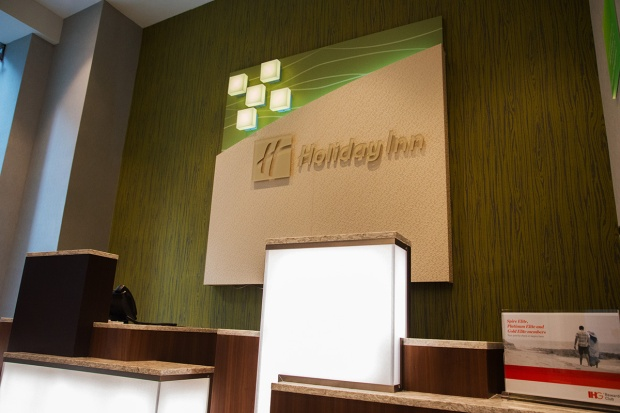 Holiday Inn New York City – Times Square front desk