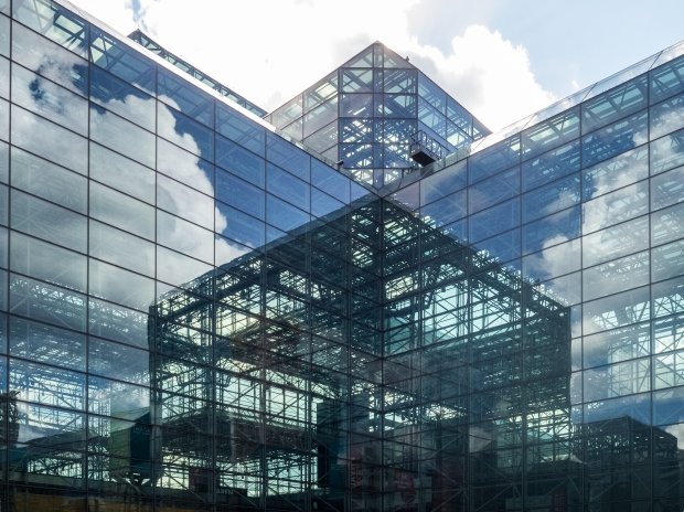 Exterior of the Jacob K. Javits Convention Center